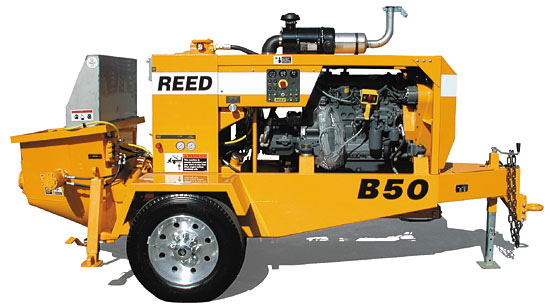 REED B Series Concrete Pump Image