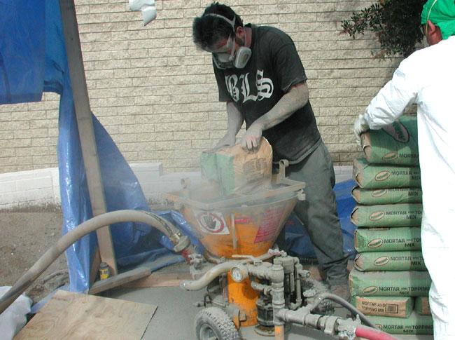 Reed Concrete Pumps Shotcrete Pumps And Guncrete Gunite