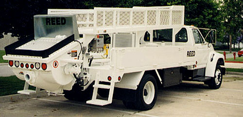 REED PT Series Truck Mounted Concrete Pump