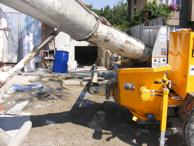 REED A40HP Concrete Pump