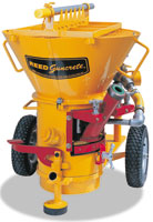 REED SOVA Guncrete Gunite Machine