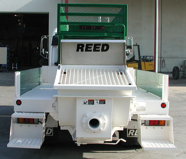 REED T Series Truck Mounted Concrete & Shotcrete Pump