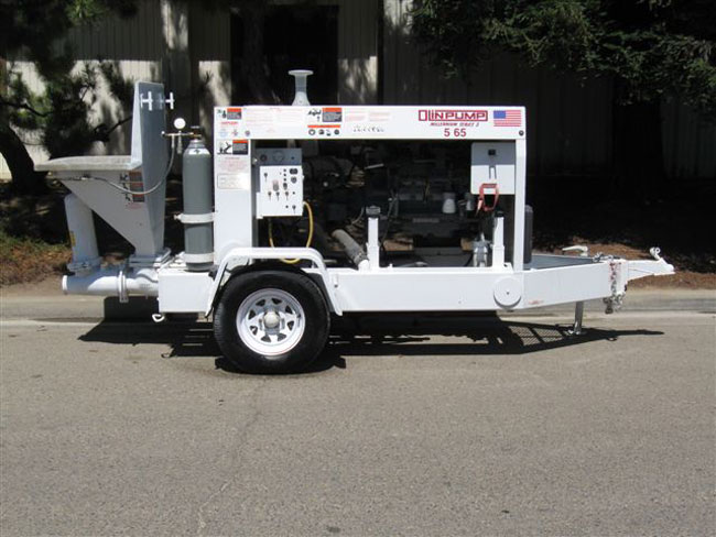 used Olin concrete pump