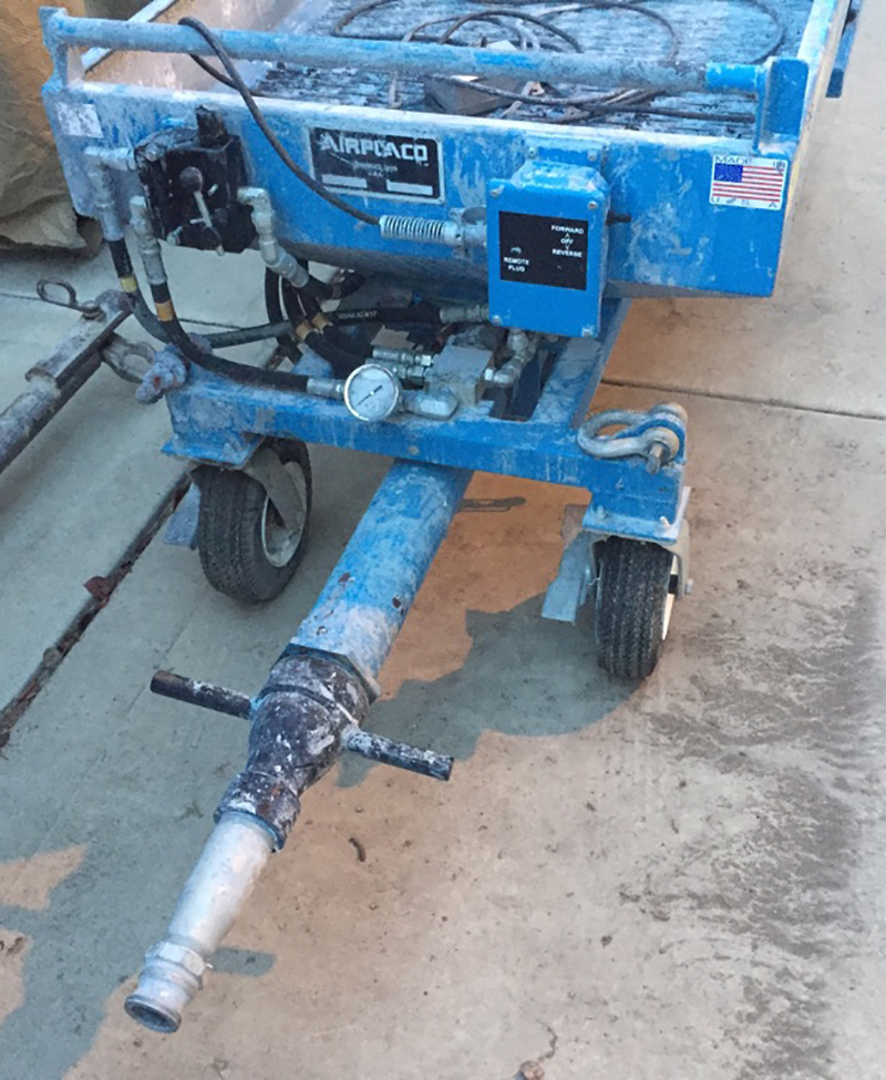 used REED Concrete Pump